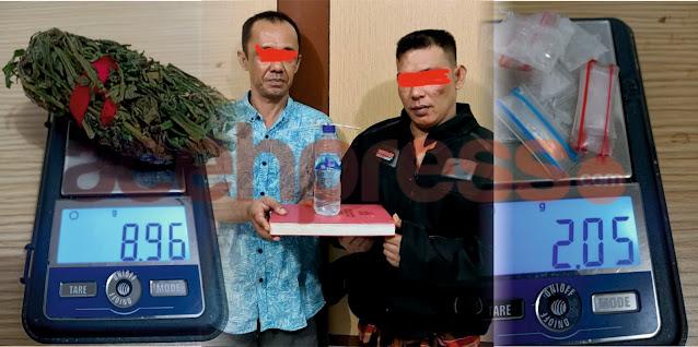 Konsumsi dan Miliki Sabu, Dua Pemuda ditangkap Opsnal Satresnarkoba Polresta Banda Aceh