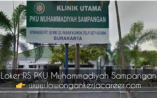 Karir Lowongan Kerja RS PKU Muhammadiyah Sampangan 2020 Jl Cempaka Surakarta Solo
