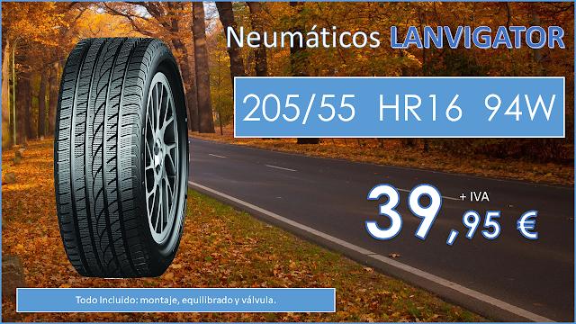 Neumáticos LANVIGATOR 205/55 R16