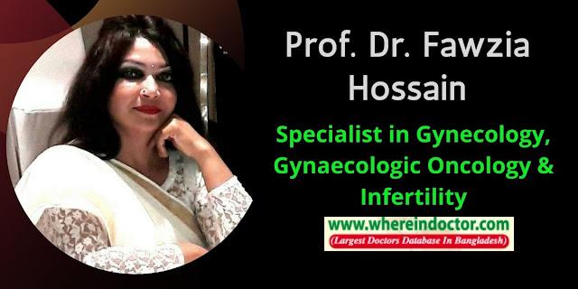 Profile of Prof. Dr. Fawzia Hossain