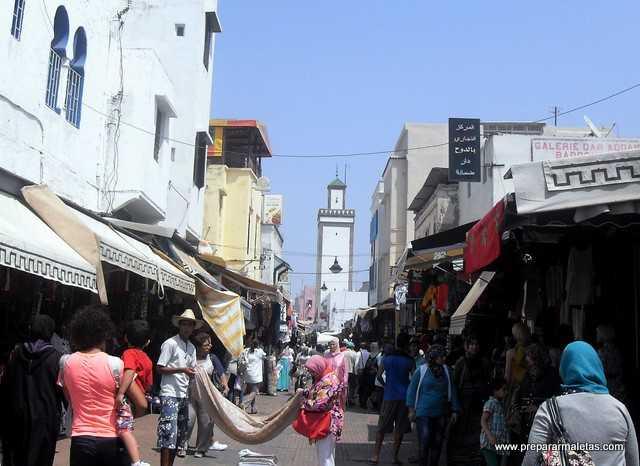 compras y regateo en Marruecos, consejos