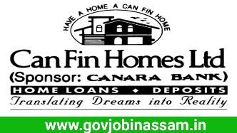 Can Fin Homes Ltd. Recruitment 2018, govnobinassam