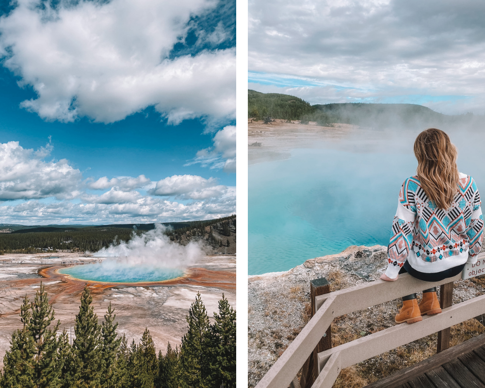 lifestyle and travel blogger Amanda Martin shares her Guide to Yellowstone
