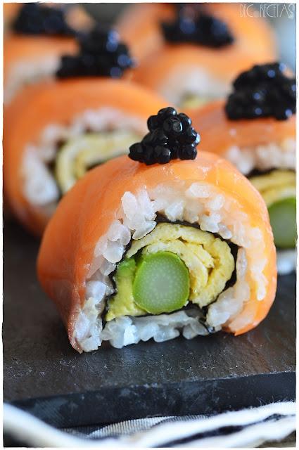 Sushi frito.-Receta de sushi vegano, - Receta de sushi-Zu o aderezo de arroz para sushi- Alaska roll sushi Receta de Juan Pedro Cocina - El sushi de atún, el favorito de los japoneses |- Sake Cheese Bamboo Roll. Receta de sushi- 10 variedades de sushi que deberías conocer- Sushi fácil en 5 pasos-Sushi California -Rollos de sushi bajos en carbohidratos -Cómo hacer sushi casero, receta paso a paso- Cómo hacer maki sushi en casa-