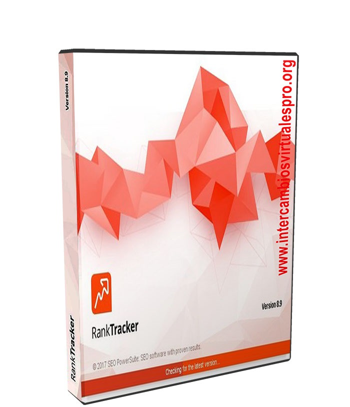Rank Tracker Professional 8.14 poster box cover