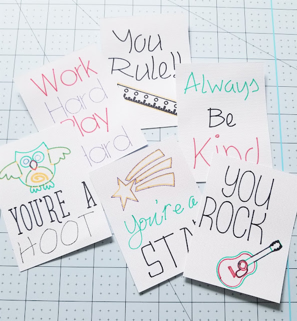 Lunchbox notes for kids