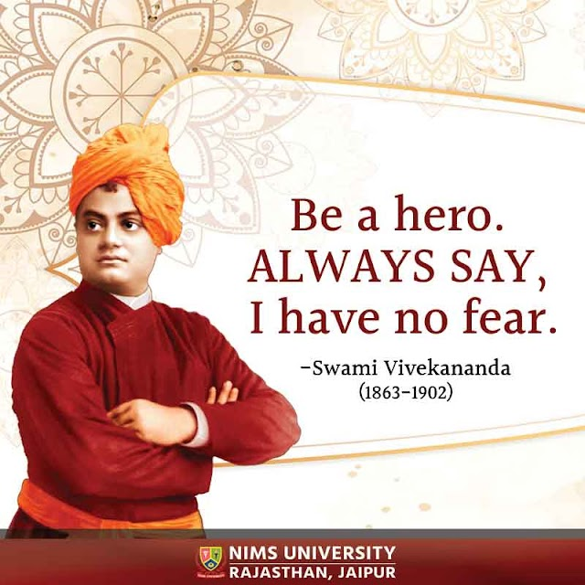 Motivational Quotes on Fear - Swami Vivekananda