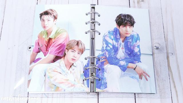 BTS 2020 Season Greetings - Planner Photos