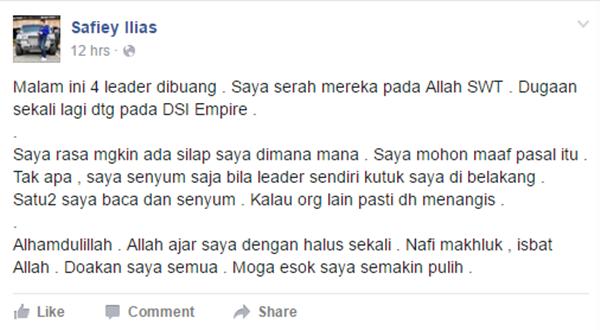 Ini DUGAAN Yang Perlu Ditempuhi Oleh Safiey Ilias Selepas Hijrah Kepada Lelaki Yang Sebenar Yang Mengejutkan!