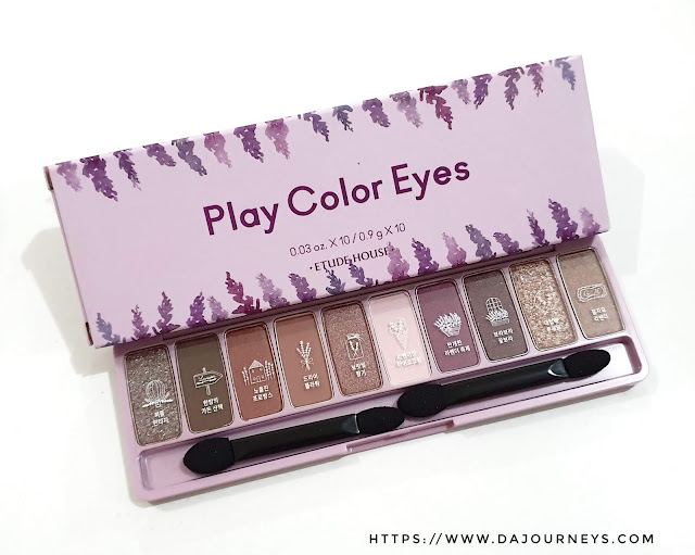 [Review] Etude House Play Color Eyes Lavender Land