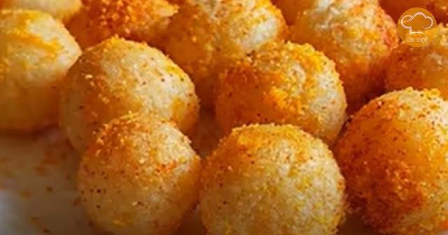 රුලං ක්රිස්පි බෝල හදමු (Semolina Crispy Ball Hadamu) - Your Choice Way