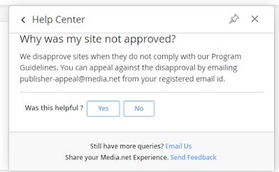 reapply on media.net