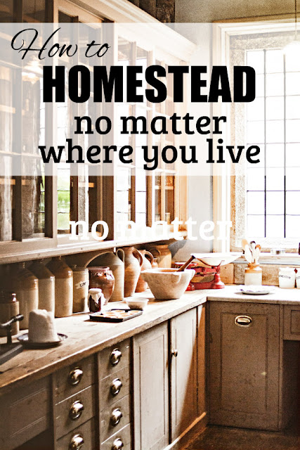 Homesteading is a state of mind, not a place on a map. Here's how you can start living simply no matter where you live.
