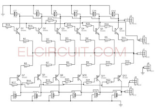 Parallel Transistor final power amplifier