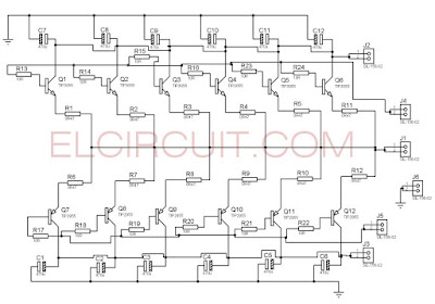 Parallel Transistor final power amplifier