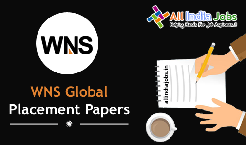 WNS Global Services Placement Papers PDF Download 2017-2018