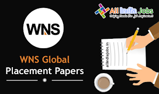 WNS Global Services Placement Papers