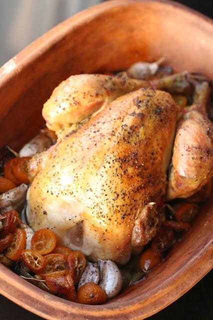 poulet au romertopf