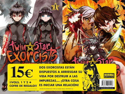 Twin Star Exorcists Sousei no Onmyouji