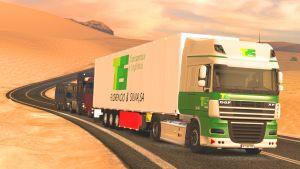 TFS Transportes Florêncio e Silva skin + trailer for DAF XF