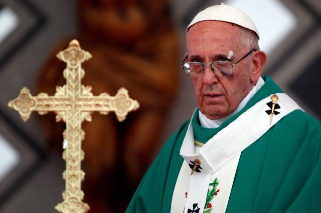 """PEDOFILIA: Papa Francisco diz que Igreja demorou a """"tomar consciência"""" e que abusadores são """"doentes"""""""