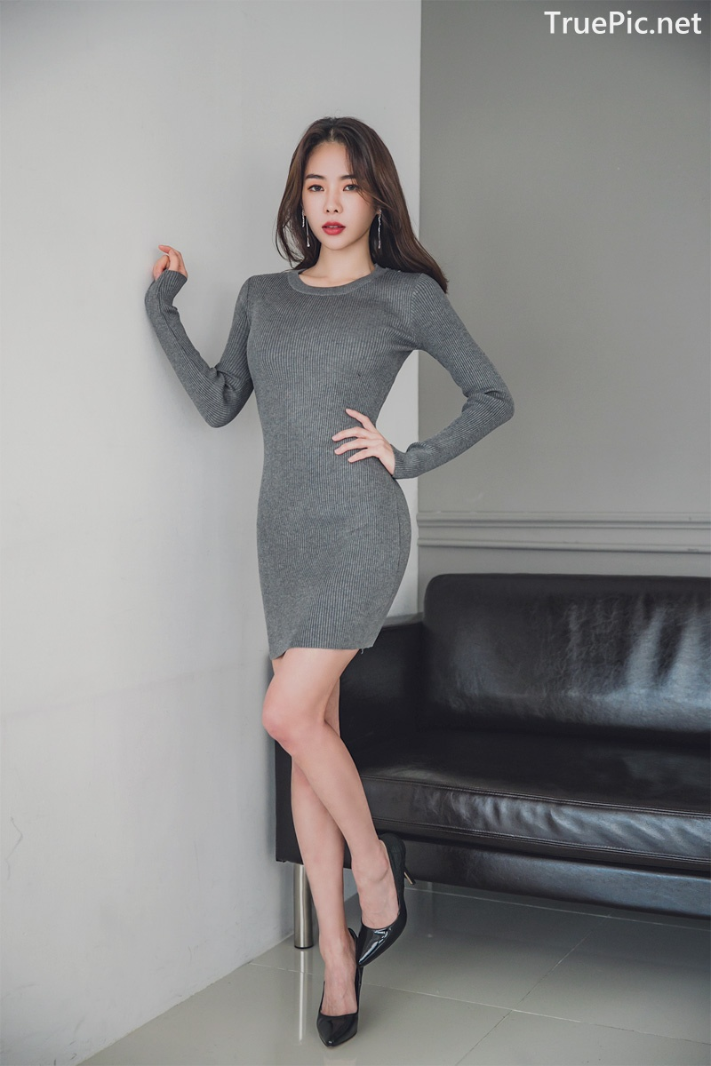 Image Korean Fashion Model - An Seo Rin - Office Dress Collection - TruePic.net - Picture-9