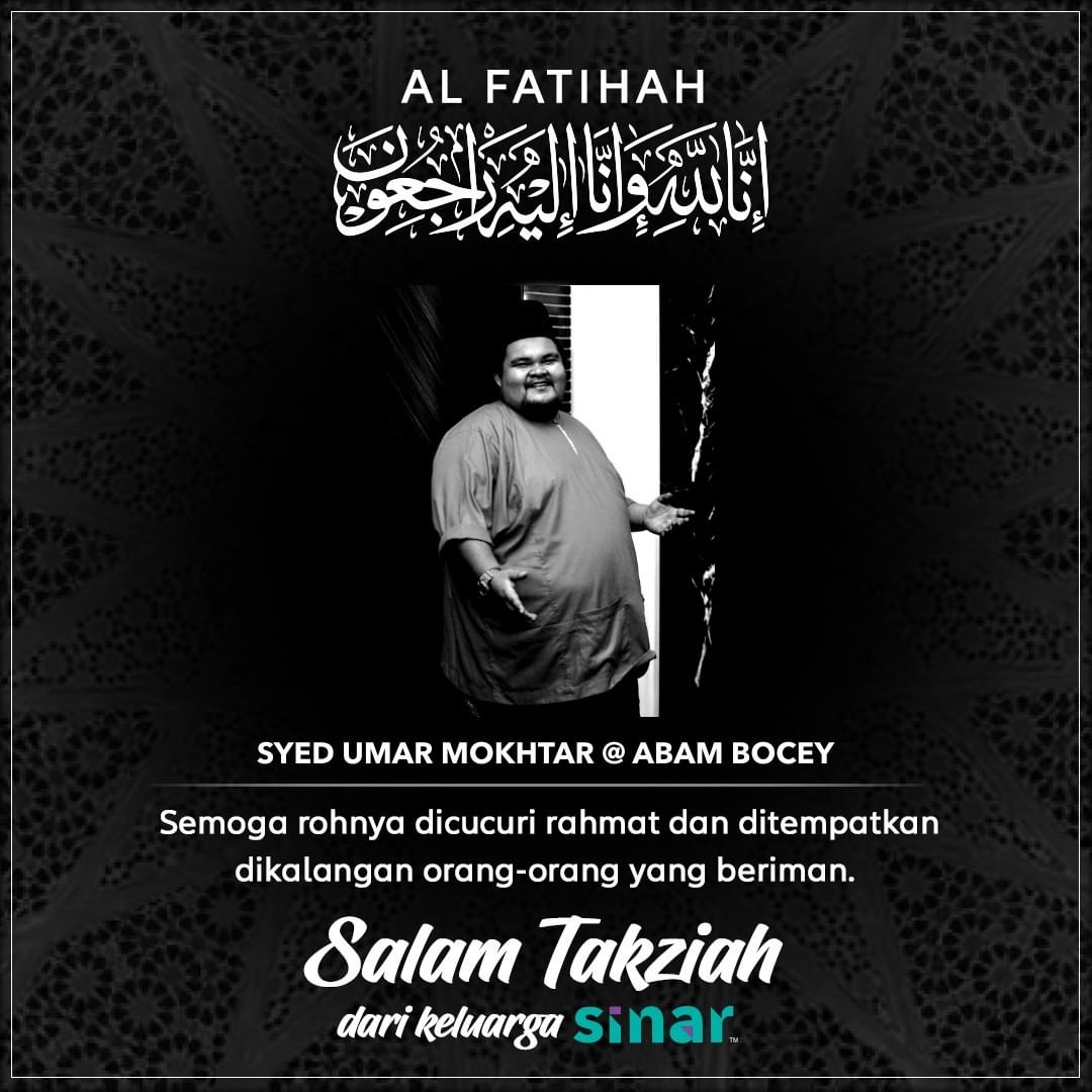 Abam Bocey meninggal dunia
