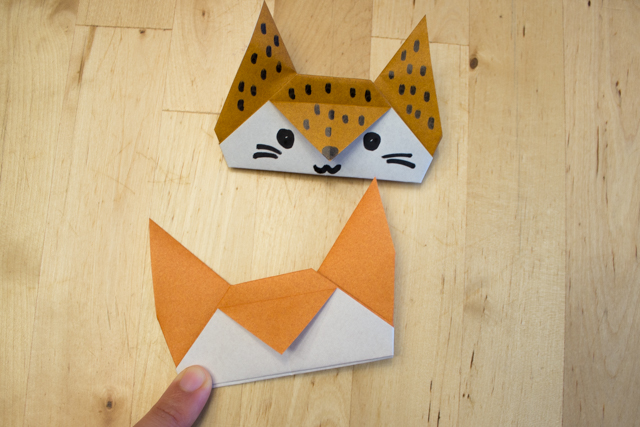 How to make a origami fox face - YouTube | 427x640
