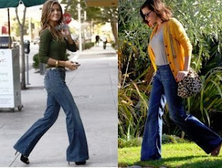 Model Flare Jeans