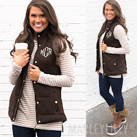 brown vest outfit