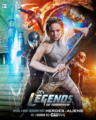 Poster Crossover Legends of Tomorrow
