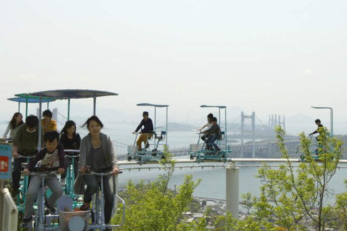 SkyCycle | The Washuzan Highland amusement park in Okayama, Japan