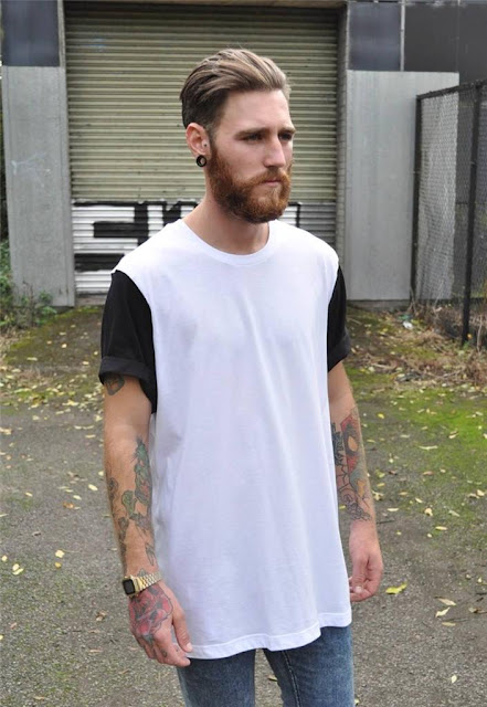 Como usar camiseta LongLine T-Shirt e Oversized Tee, Moda Masculina, Looks Masculino, Lookbook masculino, blogueiro, moda 2016 2017