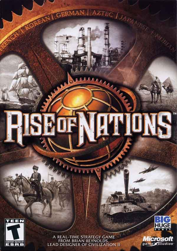 Rise of Nations Download Cover Free Game