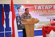 Jelang Pilkada, Kapolda Malut Kunjungan Kerja ke Polres Morotai