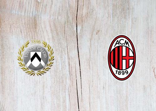 Udinese vs Milan -Highlights 01 November 2020