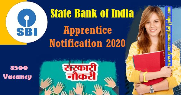 SBI Apprentice Notification 2020
