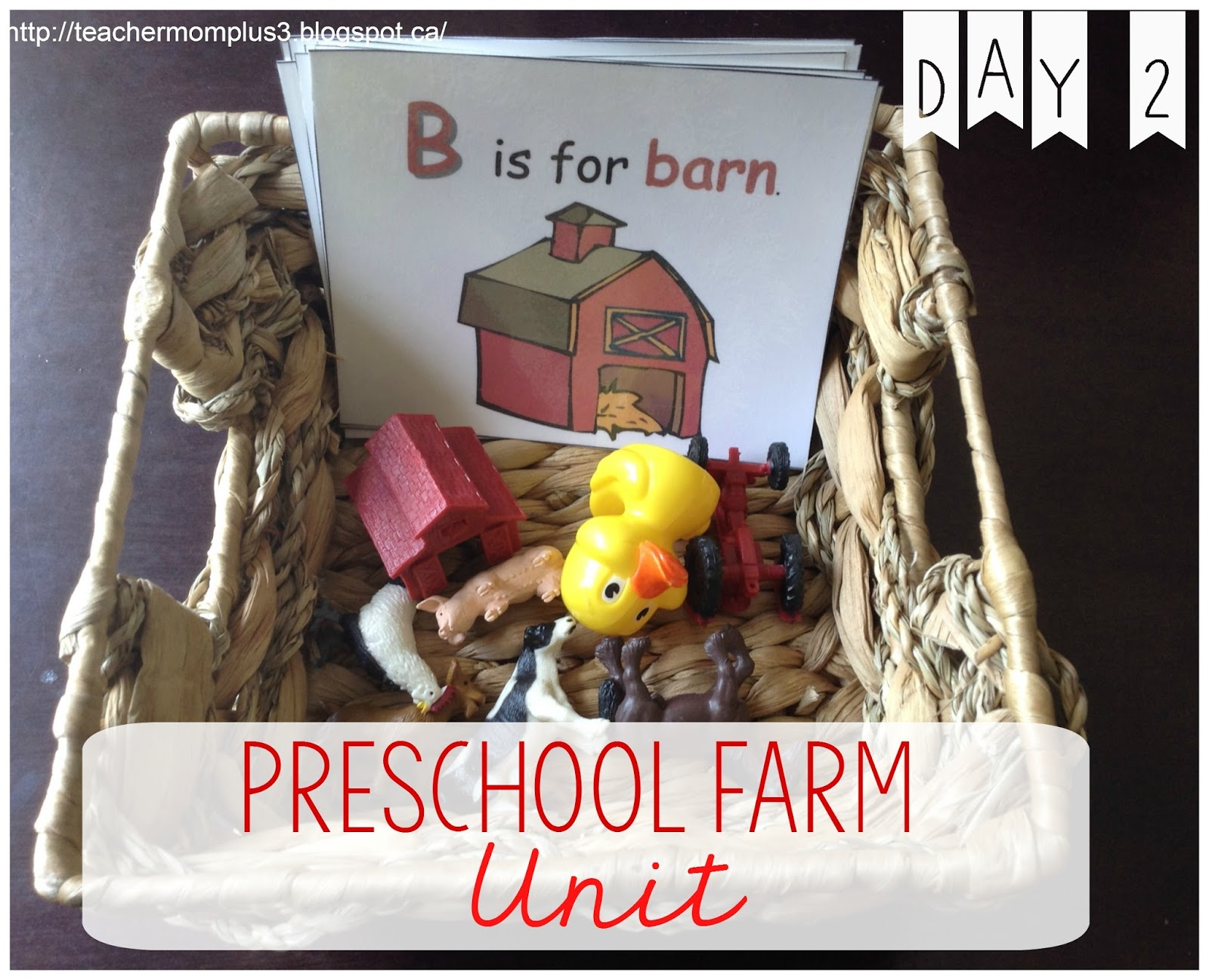 Teachermomplus3 Preschool Farm Activities Day 2