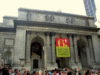 Library in New York
