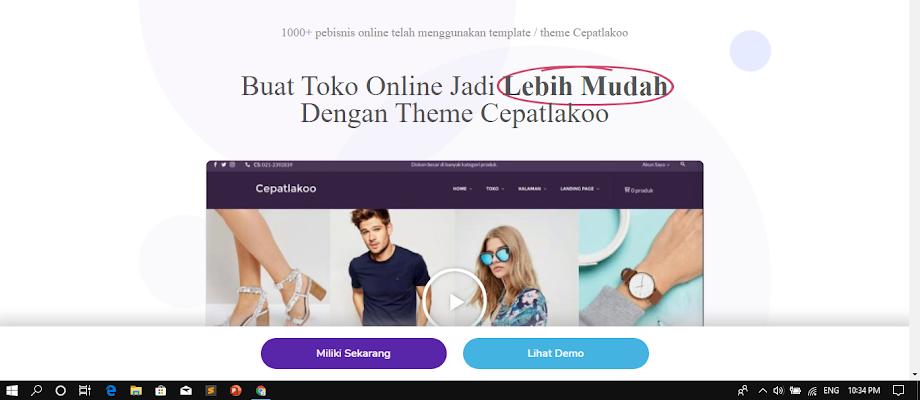 Template Wordpress Toko Online Keren Terbaru Dan Terbaik