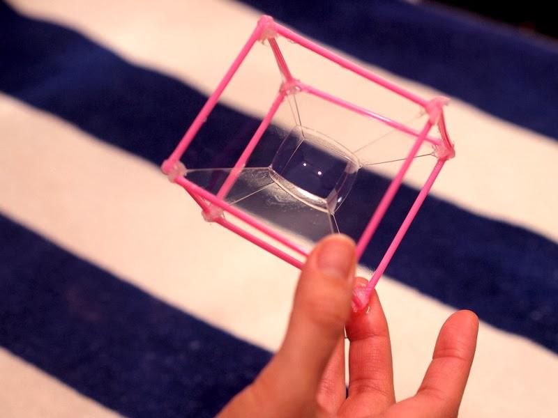 Make a cube bubble