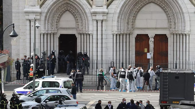 47 Year Old Man Arrested For Terrorist Knife Attack In Nice Church