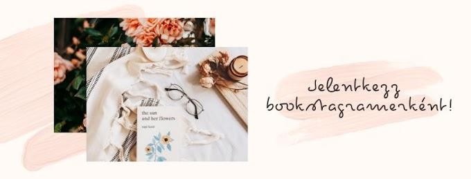 Jelentkezz bookstagramerként