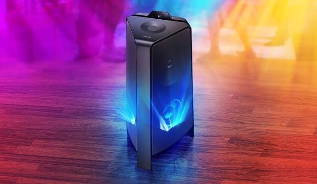 Samsung Sound Tower MX-T55: Loa tháp với âm thanh hai chiều, công suất 500W