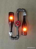 ideas para reutilizar botellas de vidrio