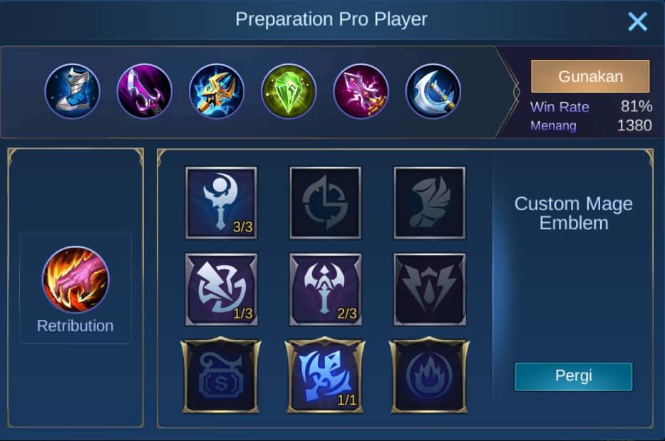 build item selena mobile legends (ML)
