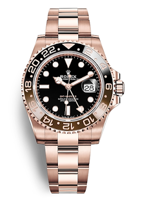Pajak Rolex GMT-Master-II-Everose gold - RM80,000