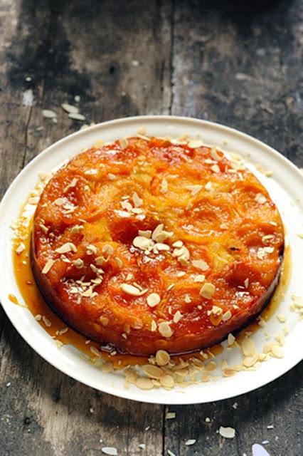 Le gâteau renversant aux abricots