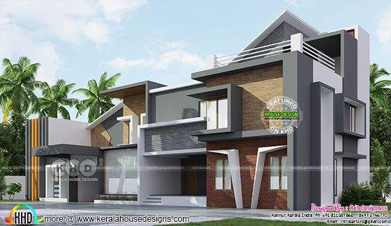 Luxury ultra modern house with 5 bedrooms