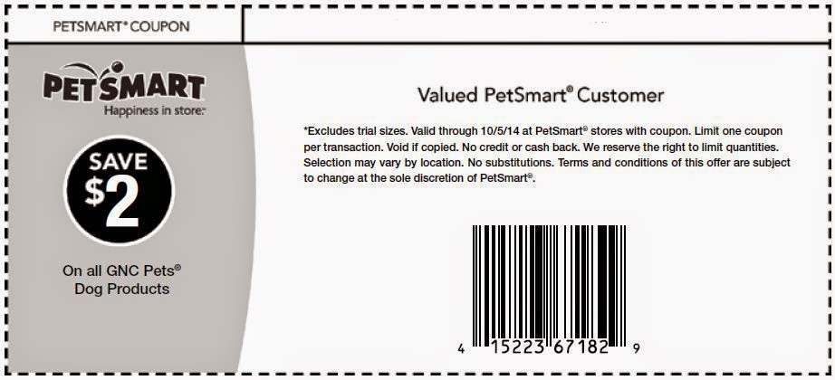 Petsmart discount coupons